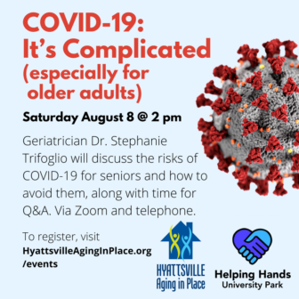 Virtual Event: Covid 19 -- It's Complicated (August 8, 2020 @ 2 pm)