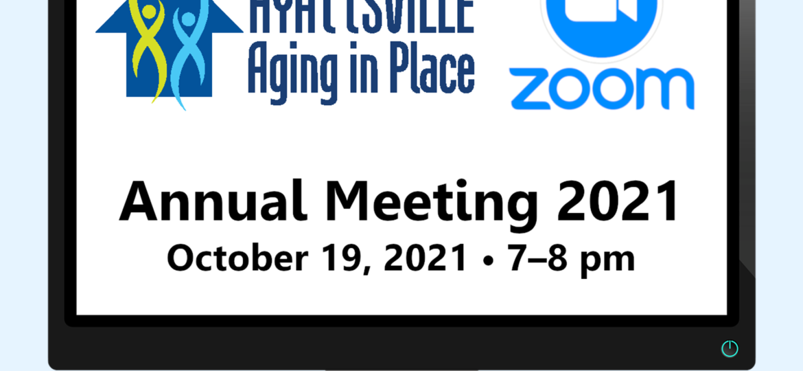HAP 2021 Annual Meeting: Oct. 19, 7 pm to 8 pm
